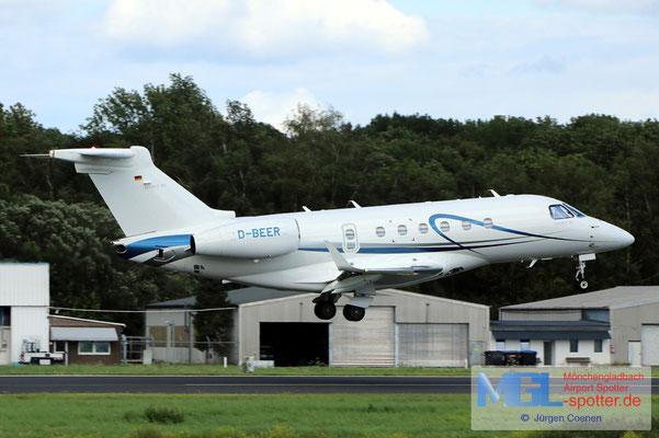 06.08.2021 D-BEER Air HAMBURG Embraer EMB-550 Legacy 500