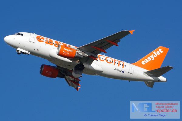 27.10.2013 G-EZDZ easyjet A319-111