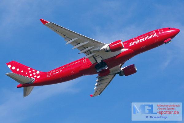22.07.2014 OY-GRN Air Greenland A330-223