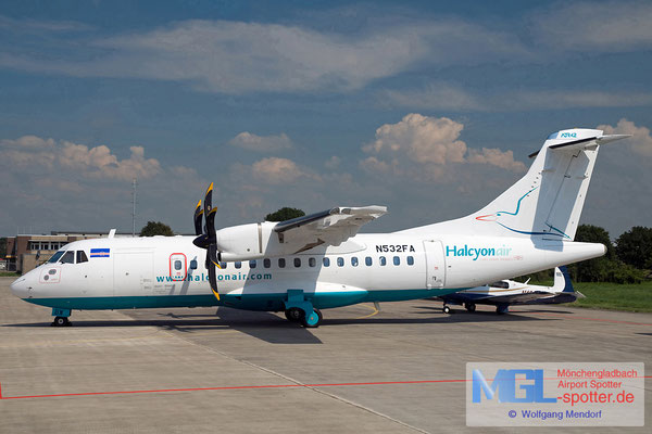 14.08.2010 N532FA Business Aviation Services/ Halcyon Air ATR 42-500 cn532