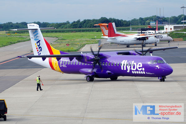 10.08.2014 EI-REL Stobart Air / Flybe ATR 72-500