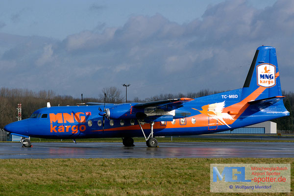 02.02.2008 TC-MBD MNG Airlines Fokker F-27-500F