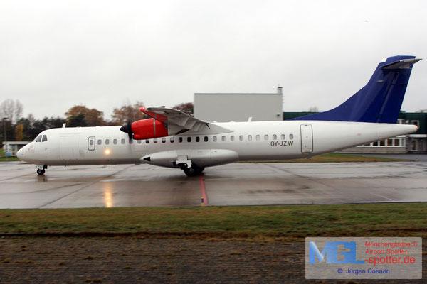 15.11.2016 OY-JZW Jettime / (SAS) ATR 72-500 cn773