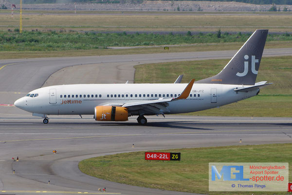 24.07.2014 OH-JTZ Jettime Finland B737-73S/W