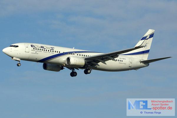 17.02.2013 4X-EKC El Al B737-858/W