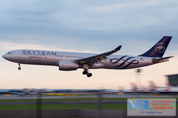 22.06.2014 VP-BCQ Aeroflot / Skyteam A330-343