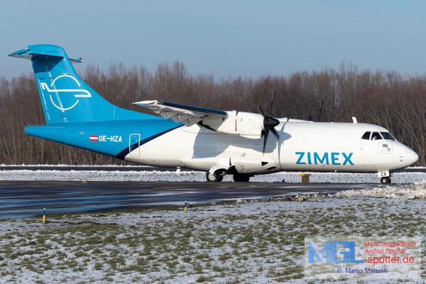 25.01.2021 OE-HZA Zimex Aviation ATR 42-320F cn093