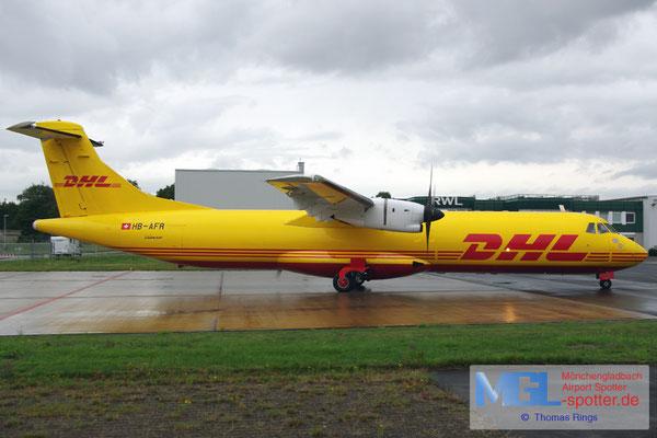 27.08.2015 HB-AFR Farnair / DHL ATR 72-201F cn195
