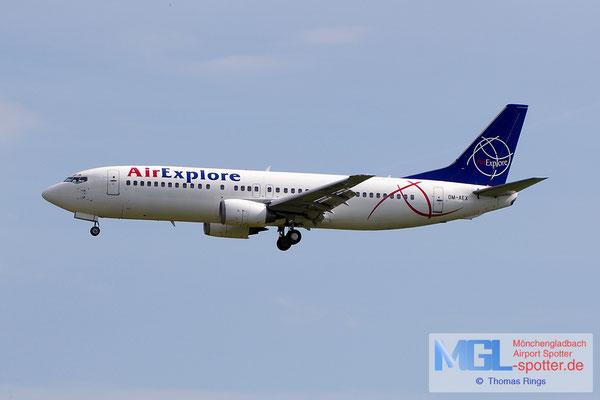 22.06.2014 OM-AEX Air Explore B737-4Y0