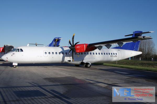 28.11.2016 OY-JZU Jettime / (SAS) ATR 72-500 cn723