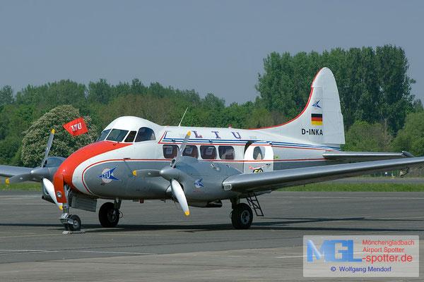 29.04.2007 D-INKA LTU classic De Havilland DH-104 Dove