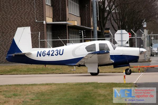 28.02.2017 N6423U Mooney M-20C