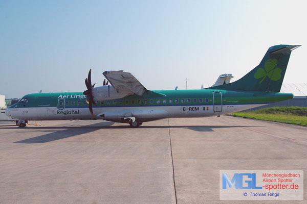 06.07.2013 EI-REM Aer Arann / Aer Lingus Regional ATR 72-500 cn760