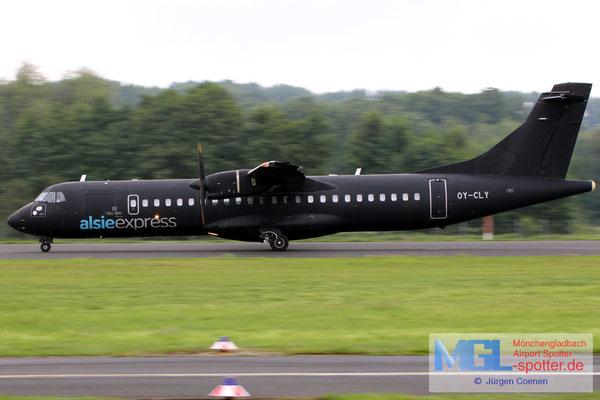 26.07.2017 OY-CLY AlsieExpress ATR 72-500 cn799