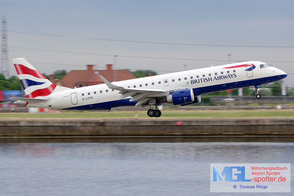 23.06.2014 G-LCYK British Airways Cityflyer ERJ-190SR