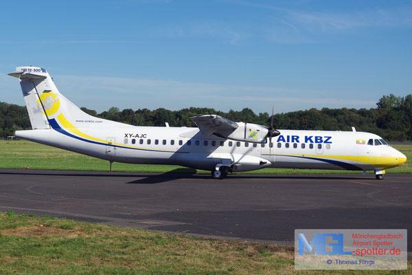07.09.2016 XY-AJC Air KBZ ATR 72-500 cn541