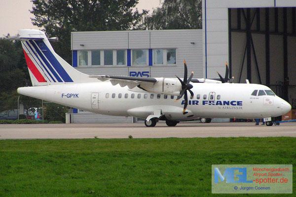 05.11.2006 F-GPYK AIR FRANCE ATR42-500