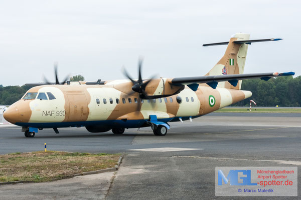 16.09.2019 NAF930 Nigeria Air Force ATR 42-500MP cn693