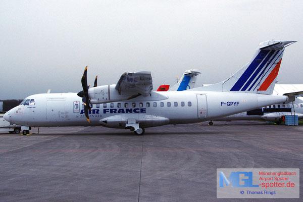10.02.2014 F-GPYF Airlinair / Air France ATR 42-500 cn495