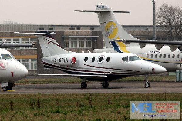 17.03.2017 G-RRIA Hawker Beechcraft 390 Premier IA