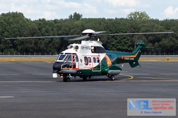16.08.2020 OH-HVG Finland Border Guard AS 332L1 Super Puma