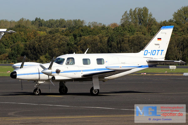 26.09.2018 D-IOTT Piper PA31T Cheyenne II