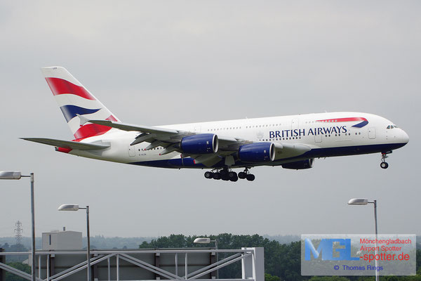 19.06.2014 G-XLEA British Airways A380-841