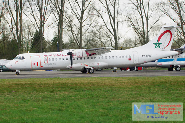 19.04.2013 T7-COB Royal Air Maroc Express ATR 72-202 cn444