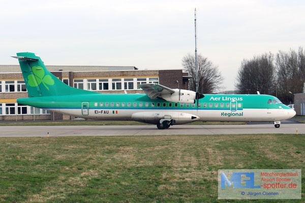 14.03.2017 EI-FAU Stobart Air / Aer Lingus Regional ATR 72-600 cn1098