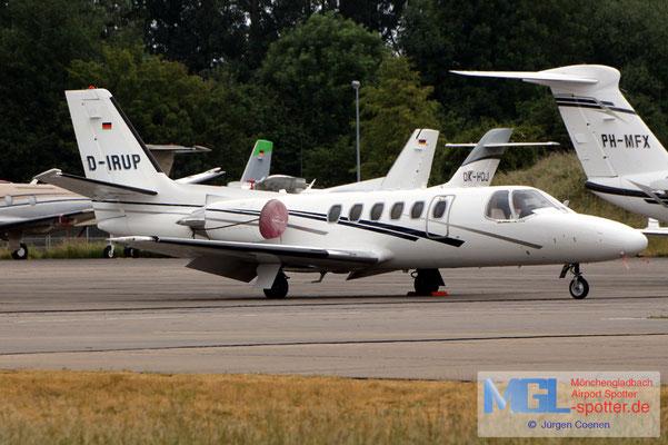 08.06.2020 D-IRUP Triple Alpha Luftfahrt Cessna 551 Citation II