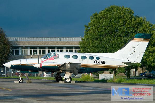 17.09.2010 YL-TAE Cessna 414 Chancellor