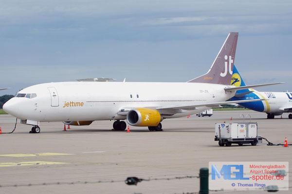 10.08.2014 OY-JTK Jettime B737-4Y0SF