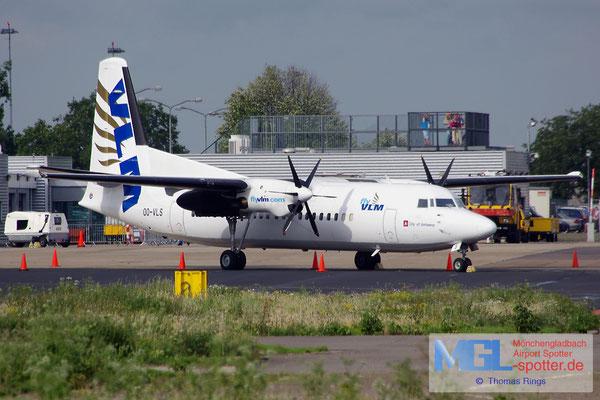 10.08.2014 OO-VLS VLM Fokker F-50