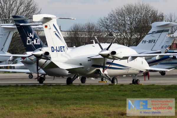 11.01.2020 D-IJET AirGO Flugservice Piaggo P180