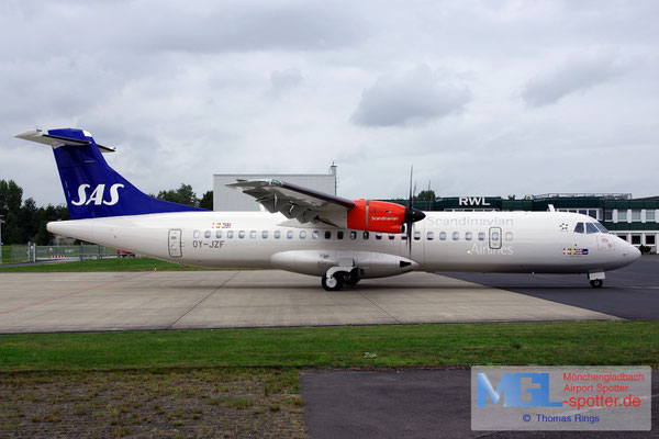 07.09.2017 OY-JZF Jettime / SAS ATR 72-600 cn1165