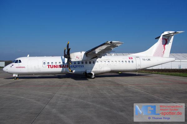17.02.2016 TS-LBE Tunisair Express ATR 72-500 cn794