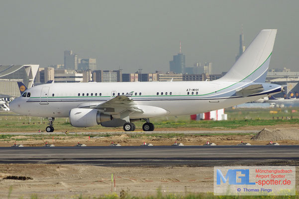 18.10.2012 A7-MHH Qatar Amiri Flight A319-115CJ