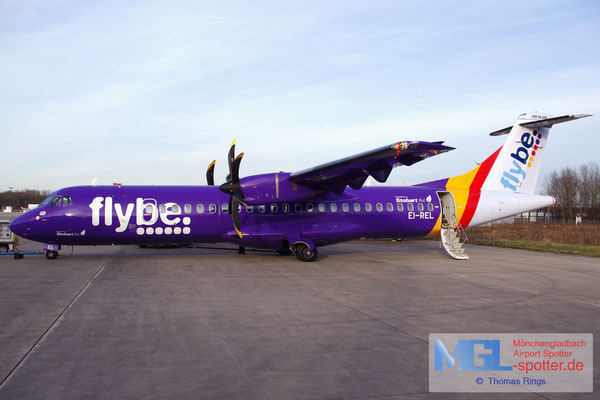 08.03.2015 EI-REL Stobart Air / FlyBe ATR 72-500 cn748