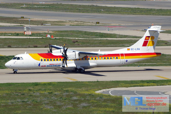 04.04.2015 EC-LSQ Air Nostrum / Iberia Regional ATR 72-600