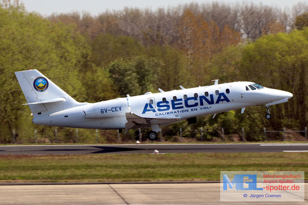 28.04.2021 6V-CEV ASECNA Cessna 680 Citation Sovereign Plus