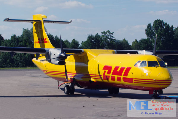 12.06.2014 ZS-XCF Solenta Aviation / DHL ATR 72-201F cn227