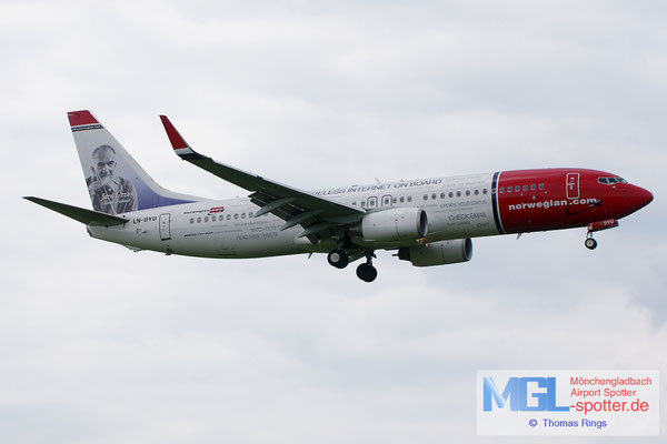 22.06.2014 LN-DYU Norwegian / Free WIFI on board B737-8JP/W