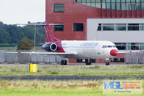 21.09.2014 YR-CRY Ghadames Air Transport Fokker 100