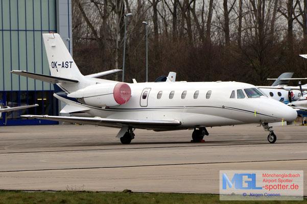 14.01.2021 OK-AST Cessna CIT560XL