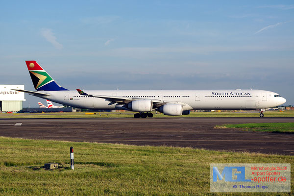 21.06.2014 ZS-SNG South African Airways A340-642