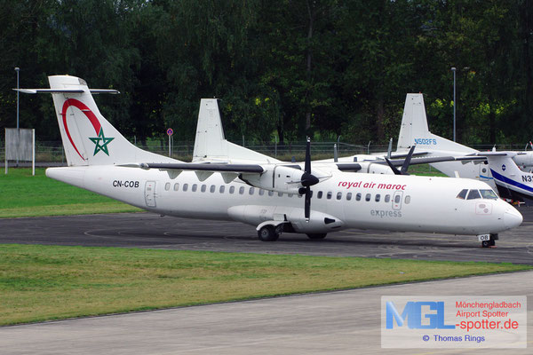 14.10.2012 CN-COB Royal Air Maroc Express ATR 72-202 cn444