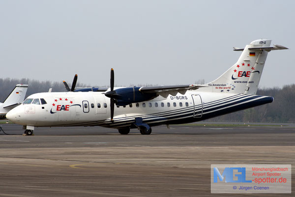 31.03.2007 D-BCRS European Air Express ATR 42-300 cn287