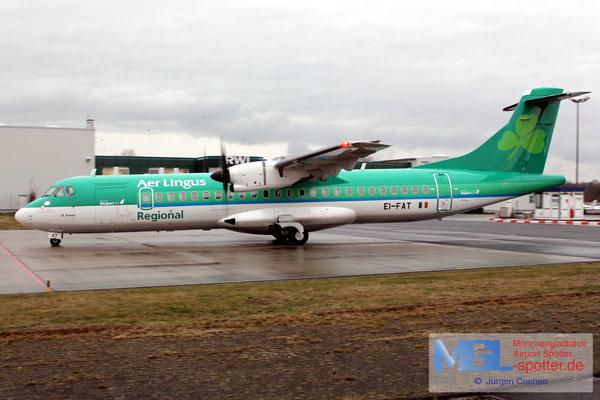 27.02.2017 EI-FAT Stobart Air / Aer Lingus Regional ATR 72-600 cn1097