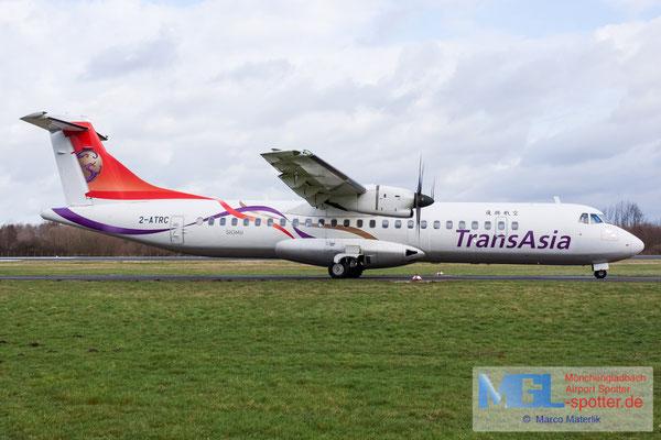 10.02.2020 2-ATRC Nordic Aero / Transasia ATR 72-600 cn1133