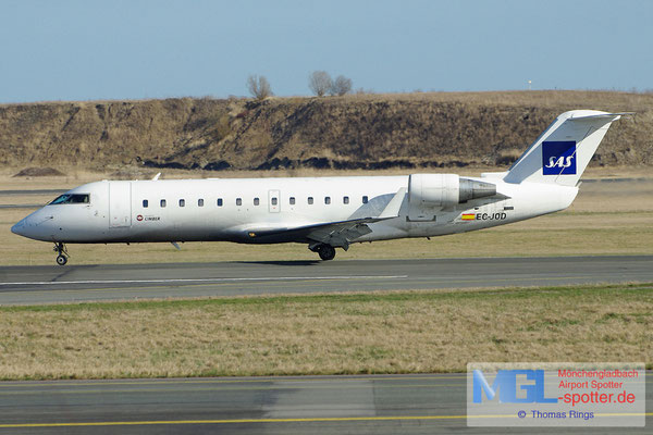 20.04.2013 EC-JOD Air Nostrum / Cimber / SAS CRJ-200LR